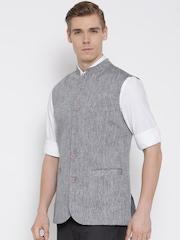 Brahaan BLUE TAG Grey Nehru Jacket