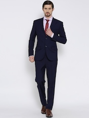 Brahaan BLUE TAG Navy Single-Breasted Formal Suit