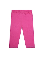 Jazzup Girls Pink Track Pants