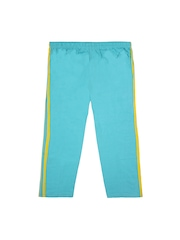 Jazzup Girls Turquoise Blue Track Pants