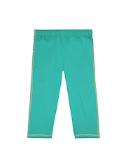Jazzup Girls Green Track Pants