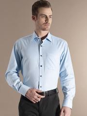 Louis Phillipe Blue Formal Shirt