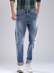 Levi's Blue Slim Straight Fit Jeans 513