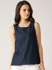 DressBerry Blue Chambray Top