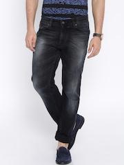Numero Uno Black Frazer Straight Fit Jeans