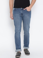 Numero Uno Blue Washed Morice Slim Fit Jeans