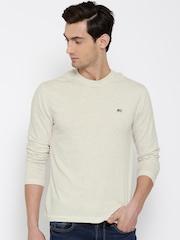 Jockey Cream-Coloured T-shirt
