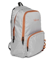 THe VerTicaL Unisex Grey Backpack