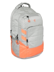THe VerTicaL Unisex Grey Laptop Backpack