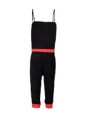 naughty ninos Girls Black Jumpsuit