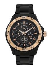 Titan Men Black Dial Watch NF90008KM02J