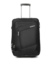 AMERICAN TOURISTER Unisex Black Elegance Small Trolley Bag