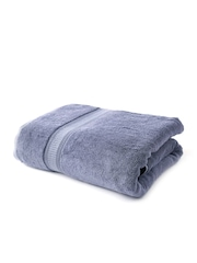Trident Organica Grey 650 GSM Cotton Bath Towel