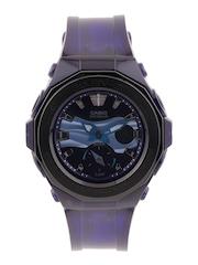 Casio Baby-G Women Blue Analogue & Digital Watch BX061