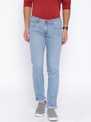 Wrangler Blue Low-Rise Rockville Fit Jeans