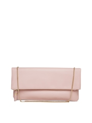 New Look Dusty Pink Sling Bag with Chain Strap