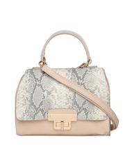 New Look Beige & Grey Snakeskin Print Sling Bag
