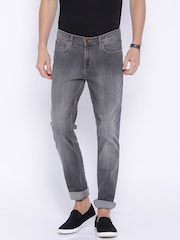 Lee Grey Washed Bruce Fit Jeans