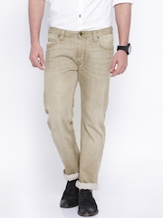Lee Beige Powell Slim Fit Jeans