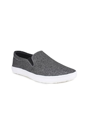 Shoetopia Women Charcoal Grey Casual Shoes
