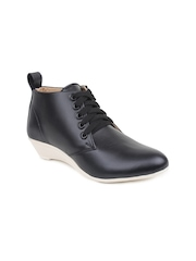 Shoetopia Women Black Casual Shoes