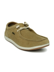 Woodland Men Brown ProPlanet Leather Casual Shoes
