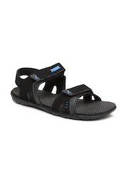 PUMA Men Black Silicis Buck DP Sports Sandals