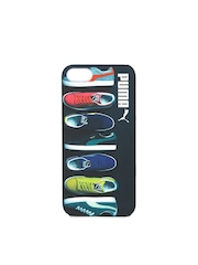 PUMA Unisex Black Graphic Print iPhone 5 Back Case