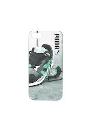PUMA Unisex Grey Graphic Print iPhone 5 Back Case