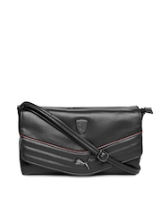 PUMA Black Ferrari Sling Bag