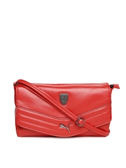 PUMA Red Ferrari Sling Bag