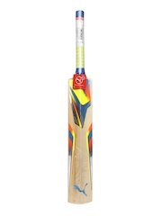 PUMA Beige Printed evoSPEED 5000 Cricket Bat