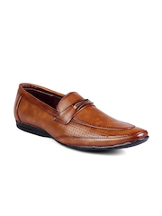 Fentacia Men Tan Brown Loafers