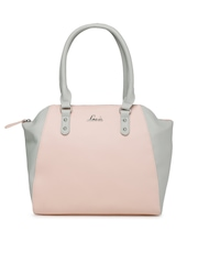 Lavie Pink & Grey Handbag