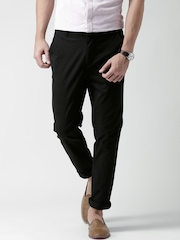 New Look Black Skinny Fit Casual Trousers