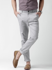 New Look Grey Skinny Fit Chino Trousers