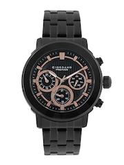 GIORDANO Premier Men Black Dial Multifunction Watch P1055-11