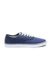 United Colors of Benetton Men Navy Canvas Shoes