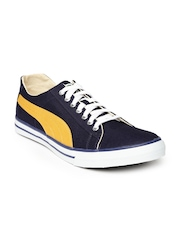 PUMA Men Navy Hip Hop 5 Sneakers