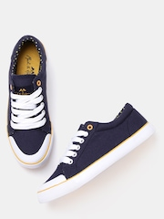 Mast & Harbour Women Navy Canvas Shoes