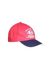 Santa Monica Men Red Cap