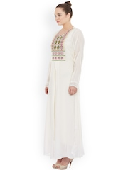 Label Ritu Kumar Off-White Maxi Dress