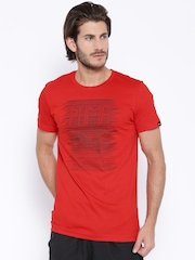Puma Red Printed DryCELL T-shirt