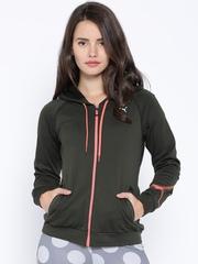 PUMA Black Hooded Jacket