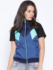 PUMA Blue Padded Sleeveless Jacket