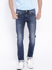 Killer Blue Washed Skinny Fit Jeans