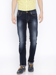 Killer Blue Washed Slim Fit Jeans