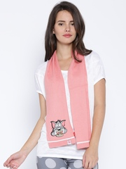 PUMA Pink Printed Scarf