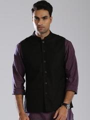 Fabindia Black Nehru Jacket