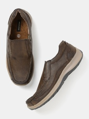 Moda Rapido Men Coffee Brown Loafers